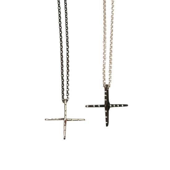 Designer silver cross