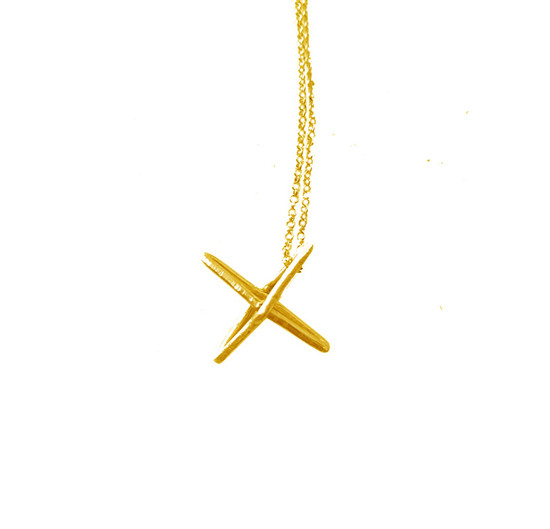 Silver Cross charm necklace|Minimal Cross charm|Ασημένιος μίνιμαλ Σταυρός
