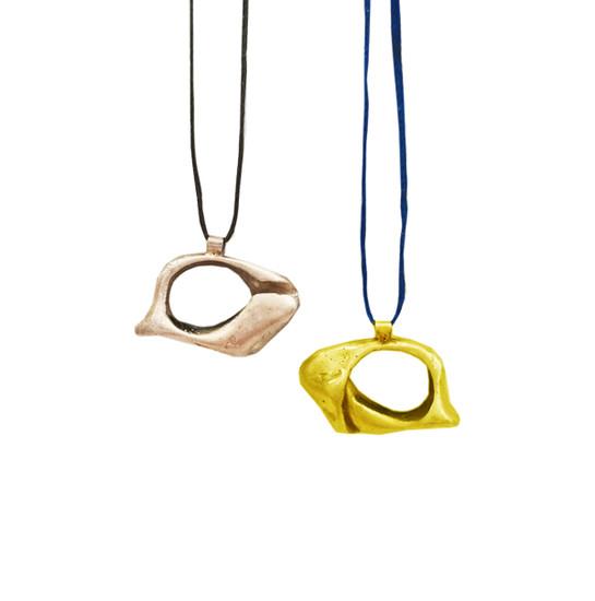 Minimal Unisex Eye Pendant|Contemporary Pendant|Men's jewelry