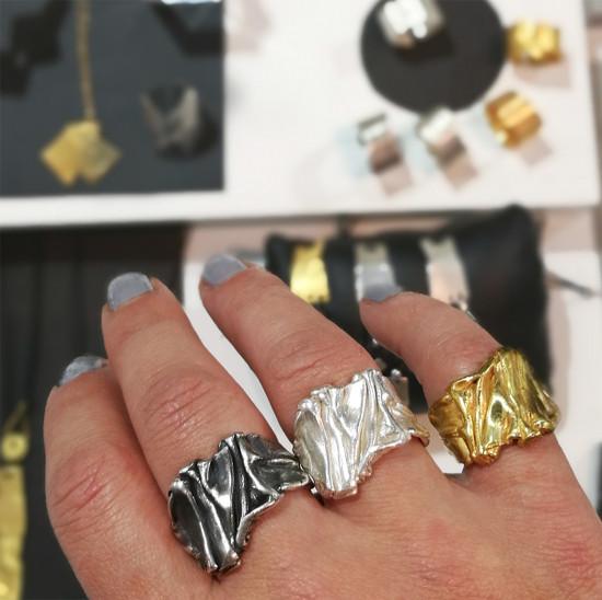 Luxury Rings -Greek Chiton Rings