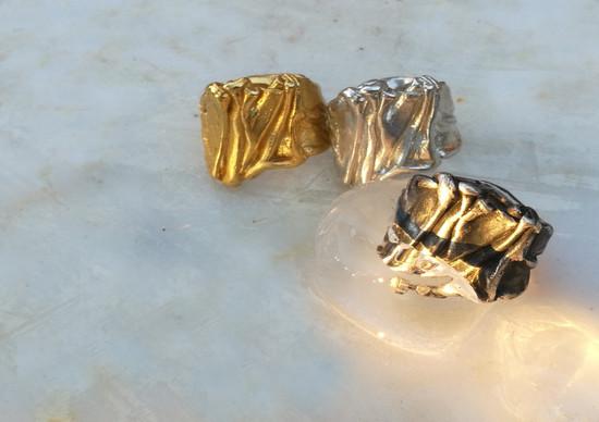 Greek Rings  -Χιτώνας Δαχτυλίδι-Χιτώνας Κόσμημα