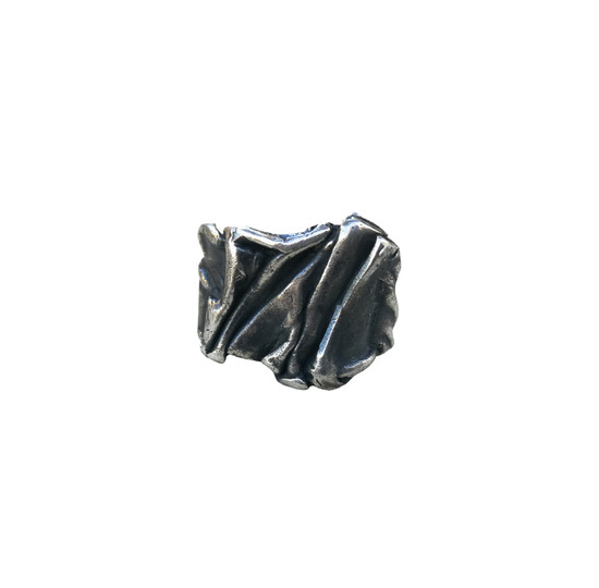 Oxidized Greek Ring