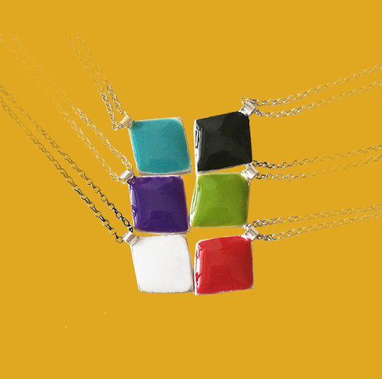 Designer color jewelry