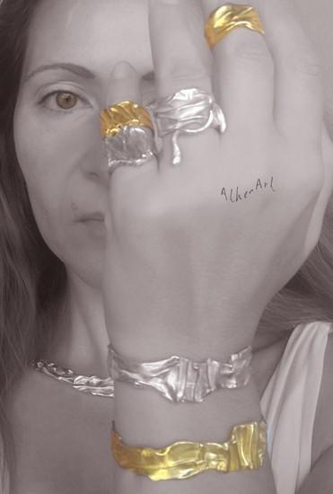 The Chiton Guardian Cuff  Bracelet |Ο φύλαξ του Χιτώνα |Greek Jewellery