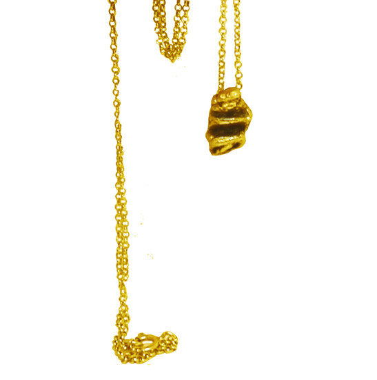 Bee Charm Necklace, nature inspired this tiny charm necklace is elegant and can be worn all day