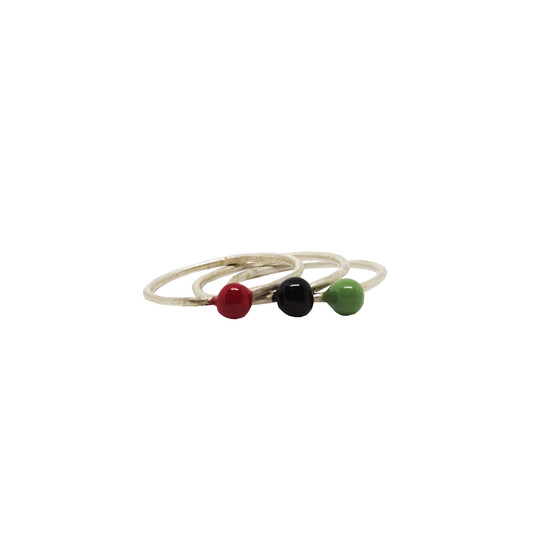 ring with colors