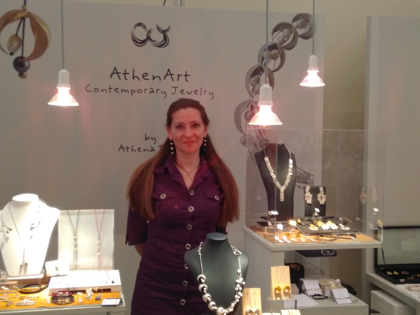 Jewelry Exhibition-Zappeion Megaro  2017 - A jewel made in Greece -Athenart Jewelry was there!!!!!