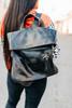 Howie Black Rustic Backpack