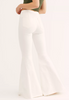 Just Float On White Flare Jeans