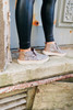 Paxton Snake Suede Slip-Ons