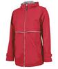 Monogram Rain Jacket in Red