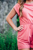 Turn To You Pink Romper