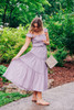 Thinking Out Loud Lavender Dress