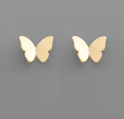 Up And Away Gold Studs