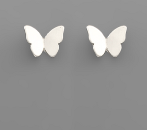 Up And Away Silver Studs