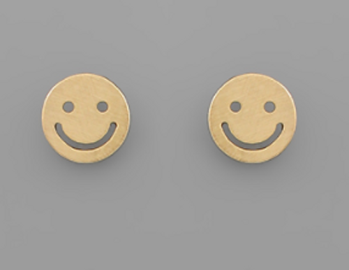 All Smiles Gold Studs