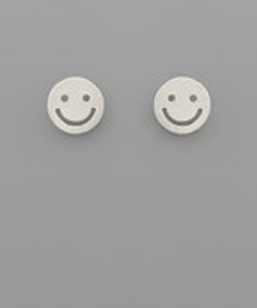 All Smiles Silver Studs
