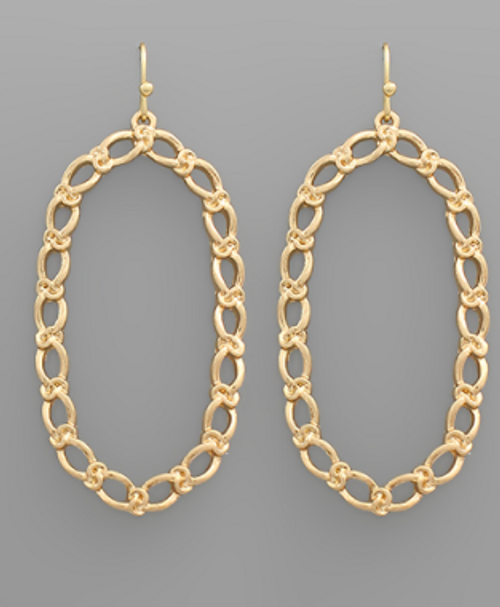Oval Obsession Earrings