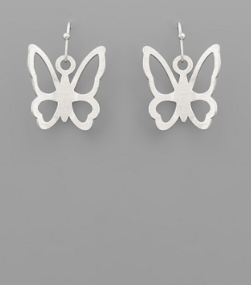 In The Clouds Silver Earrings