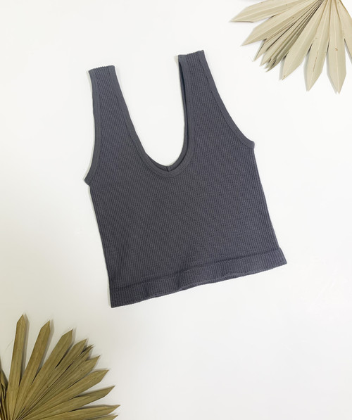 Game Ready Charcoal Top