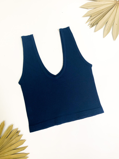 Game Ready Navy Top