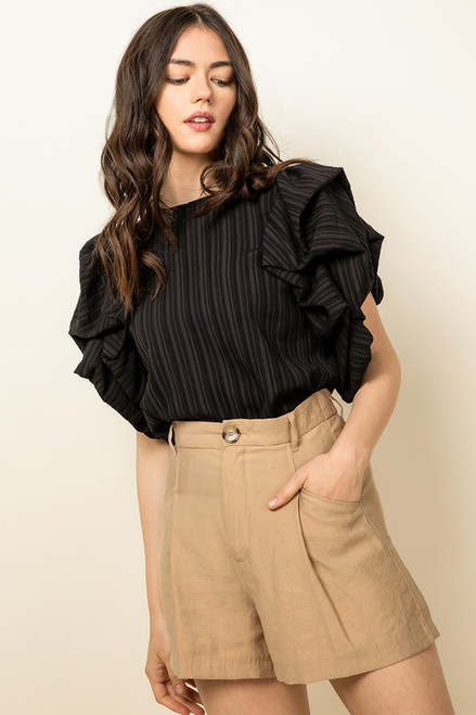 A Ray Of Light Black Top