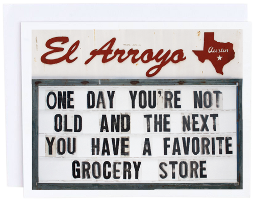 Grocery Store Card