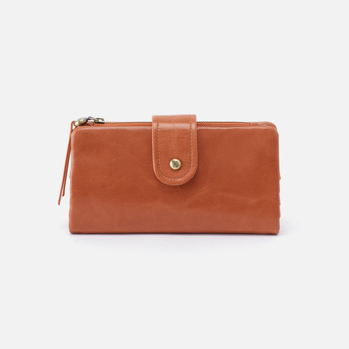 Charge Amber Continental Wallet