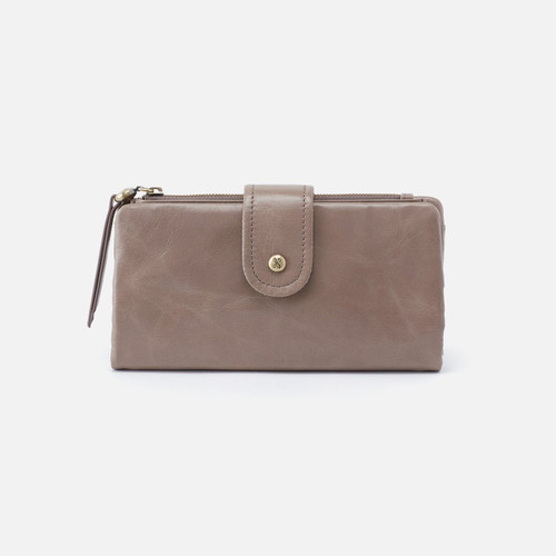 Charge Ash Continental Wallet