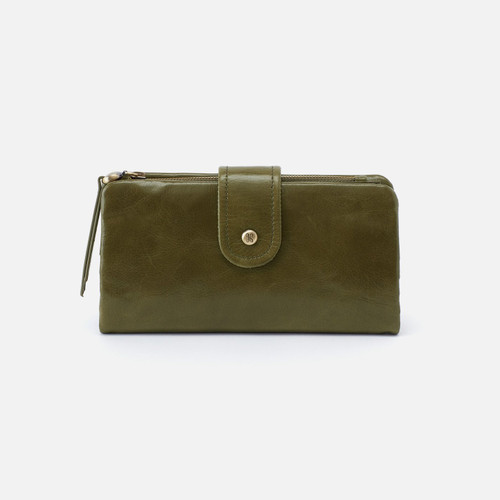 Charge Moss Continental Wallet