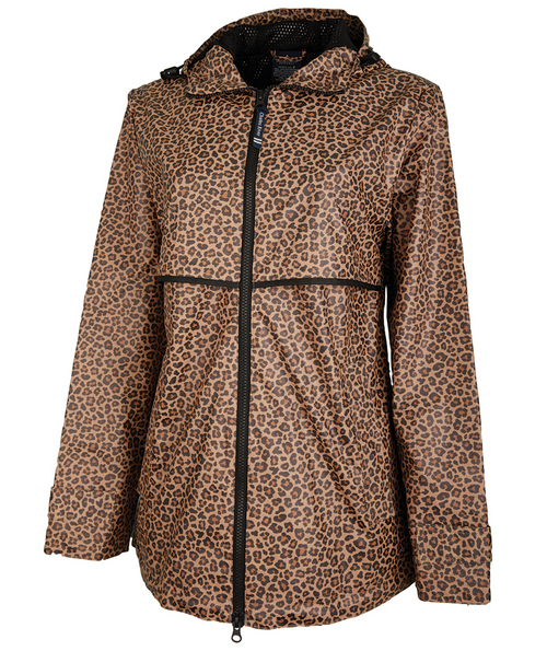 Monogram Rain Jacket in Animal Print