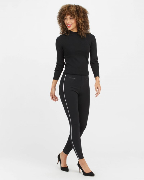 Perfect Ankle Piped Pants
