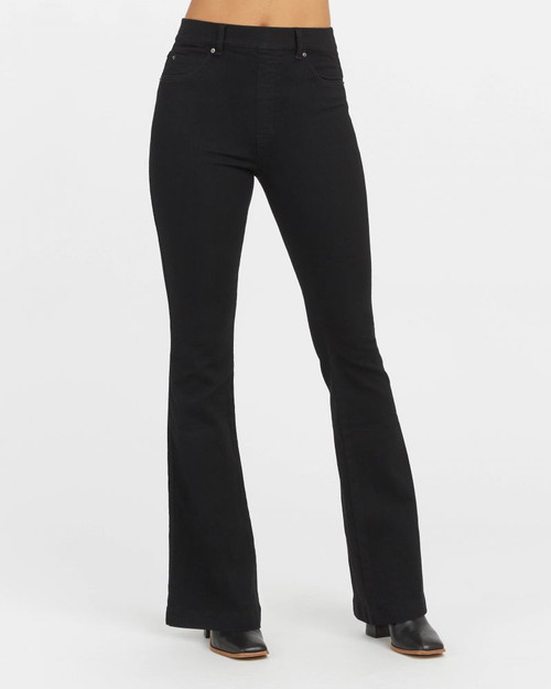 Spanx Clean Black Flare Jeans