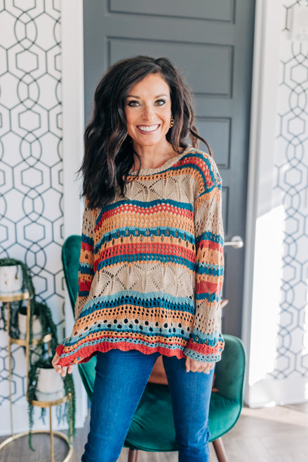All The Time Pullover Sweater
