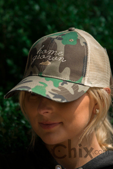 Homegrown Camo Trucker Cap