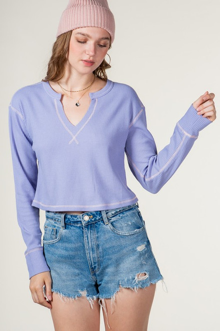 New Promotions Peri Blue Top