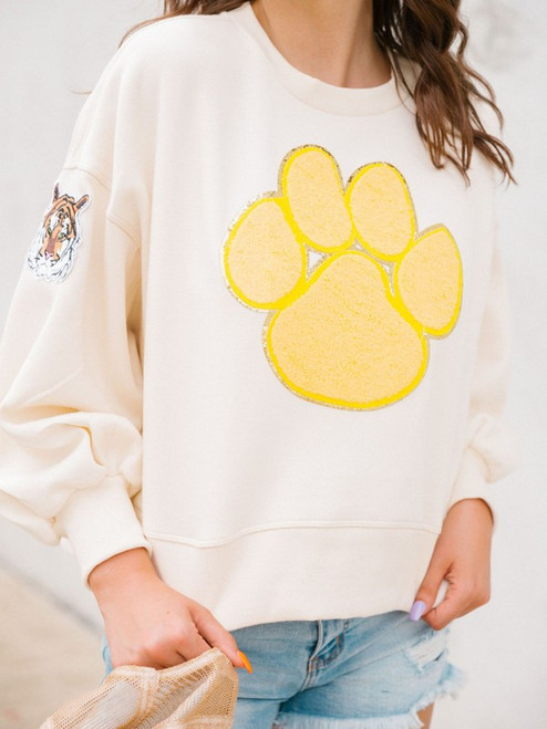 Tiger Paw Pullover