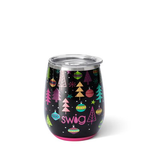 Merry & Bright Stemless Wine Cup