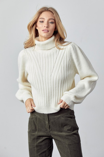 Only Prettier Ivory Sweater
