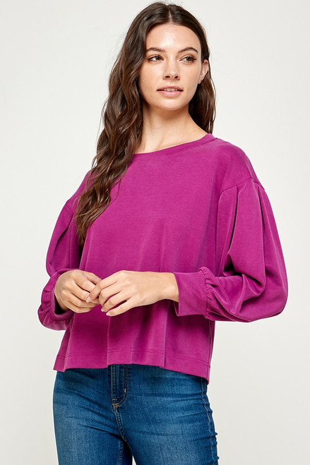 Realized Perfection Magenta Sweater