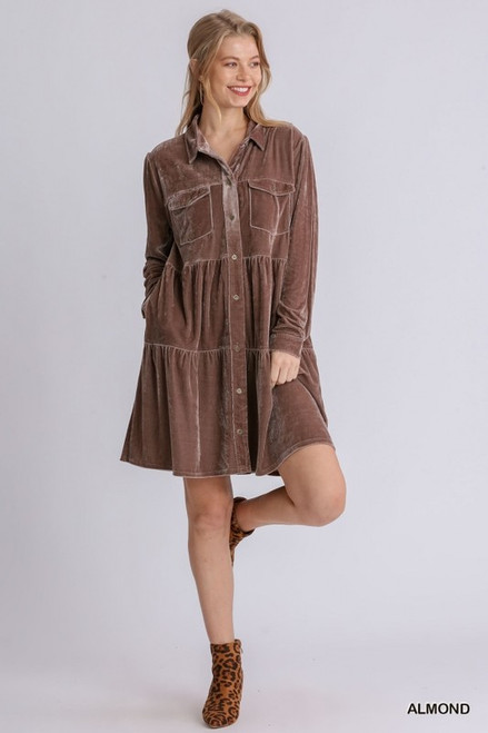 Close To Your Heart Almond Dress