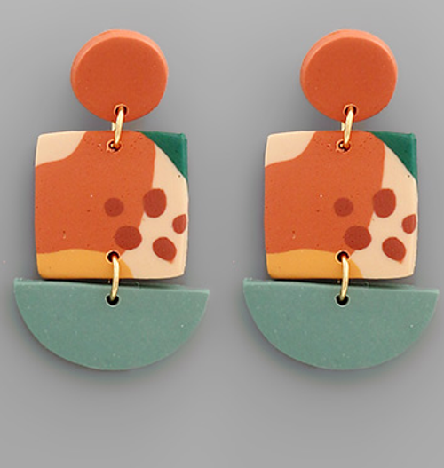Permanent Vacation Earrings