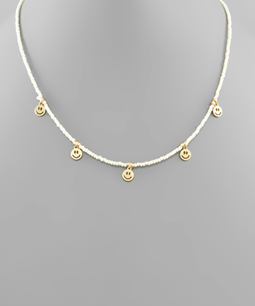 All Smiles Ivory  Necklace
