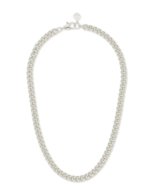 Vincent Chain Necklace In Silver