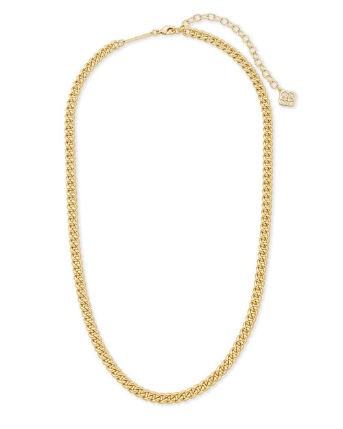 Ace Chain Necklace In Gold
