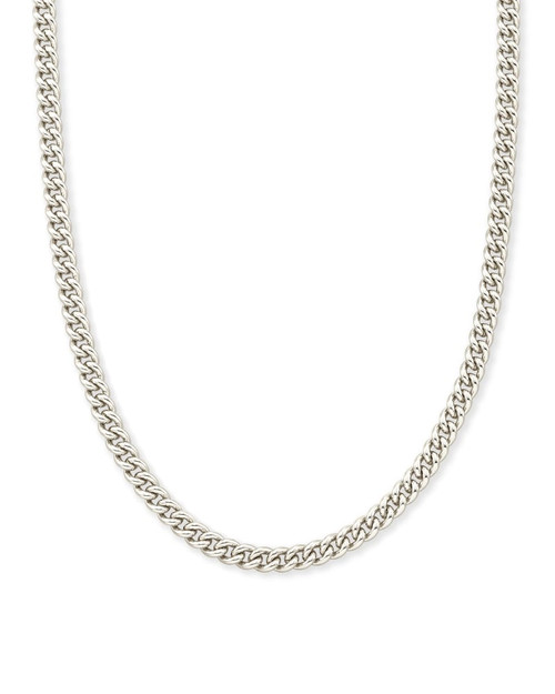 Ace Chain Necklace In Silver