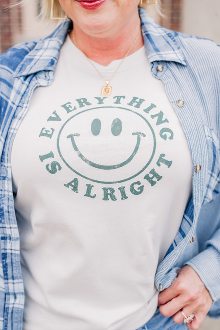 Everything Is Alright Graphic Tee