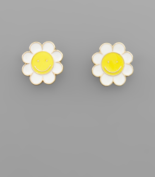 Daisy Dreaming Gold Studs