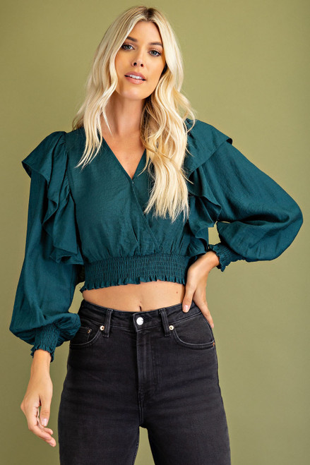 Everchanging Style Hunter Green Top