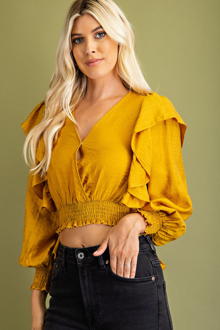 Everchanging Style Mustard Top